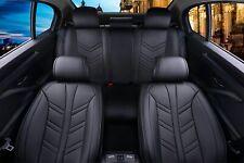 HQ Car Seat Covers Leatherette Universal Dog Pet Protector HQ Full Set Black