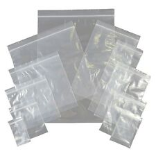 1.5 x 1.5 Small Clear Poly Plastic Grip Seal Bags x 200 Cover Protect Close Safe