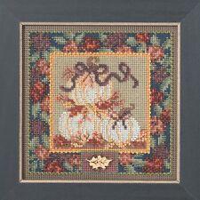 White Pumpkins Cross Stitch Kit Mill Hill 2014 Buttons & Beads Autumn
