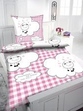 Kinder Bettwäsche 135x200 80x80 Flanell Schafe Kinderbettwäsche Art: 2265