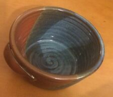 3 Colored Pottery Bowl with Handles