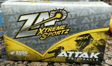 Zap Xtreme Sports 2000 Count 68 Cal Attack Paintballs