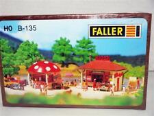 maquette train Ho FALLER réf : B-1352 KIOSK DONT 1 CHAMPIGNON neuve