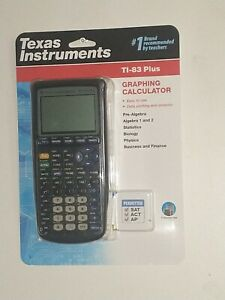 Texas Instruments TI-83 Plus Enhanced Graphing Calculator