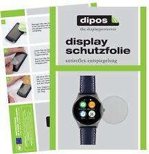 6x Uhr 22.5 mm Durchmesser Schutzfolie matt Displayschutzfolie Folie Display