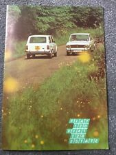 Fiat 128 Estate Saloon UK Market Brochure Excellent condition