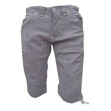 """Voi Jeans Boy's Navy & White Pin Striped Shorts """"SHEAR"""" Size 28"""" rrp £45"""