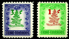 Latin America, 1952-53 Christmas Tree Types of 1951, Scott 498-99, Mnh