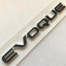 NEW RANGE ROVER EVOQUE BLACK CHROME BADGE REAR TAILGATE LETTERING