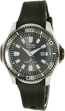 Citizen Men's Eco-Drive BN0085-01E Black Rubber Eco-Drive Diving Watch
