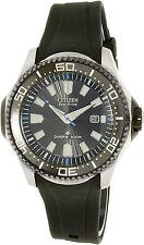 Citizen Men's Eco-Drive BN0085-01E Black Rubber Eco-Drive Diving Watch