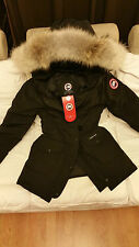 "2017 ""LATEST CONCEPT"" RED LABEL BLACK CANADA GOOSE TRILLIUM SMALL PARKA JACKET"