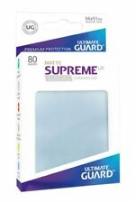 Ultimate Guardia - Supreme Ux Maniche Standard Stuoia Trasparente 80 Pezzi