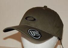 Oakley Tech Hat / Cap S/M or L/XL Strapback Dark Brush 912030