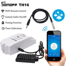 Sonoff TH16 16A Temperature & Humidity Monitoring WiFi Smart Switch Moudle Kits