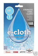 e-cloth Stainless Steel Cleaning Pack ~ 2 Cloths SSP