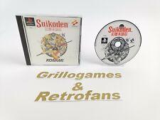 "Sony Playstation 1 Spiel "" Suikoden "" Ps1   Ovp   Pal   Konami"