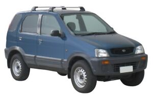 Prorack 2 Bar Roof Rack Kit for Daihatsu Terios 5dr SUV 1997-2005 (S2 + K584)