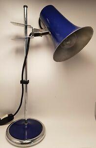 Vintage solida Lampada Da Tavolo regolabile design anni 70