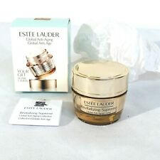 New Estee Lauder Revitalizing Supreme Global Anti Aging Cream .5 oz / 15 ml