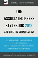 Associated Press Stylebook 2019 : And Briefing on Media Law, Paperback by Fro...