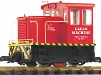 PIKO G SCALE CLEAN MACHINE RC (REMOTE CONTROL)  LOCOMOTIVE | 38506