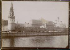 Russie, Moscou, Vue du Kremlin, ca.1900, Vintage citrate print Vintage citrate p
