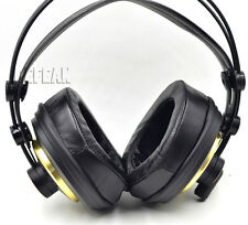 Angle Genuine Leather Ear Pads Cushion for AKG K240 S K241 K242 K270 Headphones