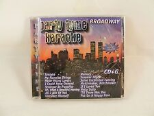 Party Tyme Karaoke: Broadway by Sybersound (CD, May-2005, Sybersound)