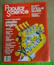 Popular Science Magazine Ford's Impossible Plastic Engine September 1982 092113R