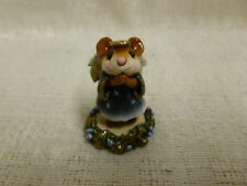 Wee Forest Folk Ice Angel Blue M-212 Christmas Retired Mouse
