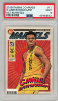 Giannis Antetokounmpo 2019 Panini Donruss Net Marvels Basketball Card #11 PSA 9