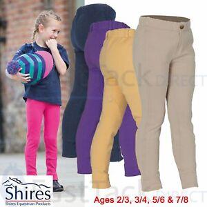 CHILDRENS PULL ON JODHPURS | SHIRES Girls Boys Wessex Comfort Horse Riding 2-8YR