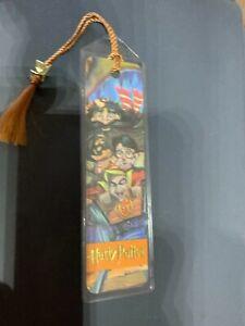 Harry Potter Bookmark in Plastic with Tassel - Gringotts