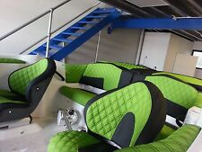 Boat SEAT COVER Custom made Any colour any design leather vinly