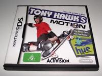 Tony Hawk's Motion Nintendo DS Game *Complete*
