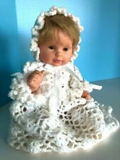 Ooak Infant in Hand-Crocheted outfit