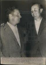 1936 Press Photo Herman Keiser & Jimmy Thomson at Masters golf tournament