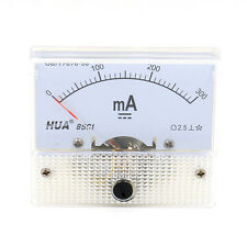 Analog 85C1 DC 300mA Panel Meter Amperemeter Messgerät Einbaumeßgeräte