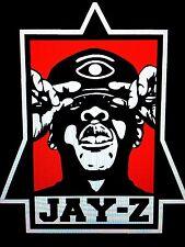 Jay-Z Pyramid Vinyl Sticker (Hip Hop, Rap,Hova, Illuminati, Beyonce, Bombatomik)