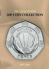 New 2020 50p Coin Collector Album Beatrix NHS Gruffalo Paddington Snowman