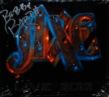 Axe - Live 2012 CD + DVD Live at Sweden Rock Festival 2012 signed by Bobby Barth
