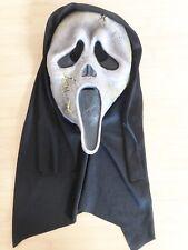 Scream Mask Ghostface Full Head Black White Horror Movie Costume Scary Dress Up