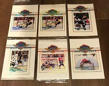 1993-4 Topps Stadium Club NHL Ice Hockey 5x7 Master Photo Lot of 10 /See Breakdn