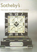 SOTHEBY'S CARTIER FDR Roosevelt Victory Clock Auction Catalog 2007