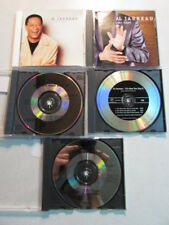AL JARREAU SET OF 5 PROMO CD SINGLES EDITS, REMIXES, ALBUM VERSIONS OF SONGS OOP