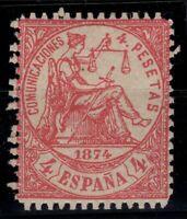 P133269/ SPAIN – ALLEGORY – EDIFIL # 151 MINT MNH CERTIFICATE – CV 1235 $