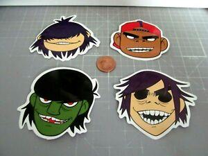 GORILLAZ ROCK BAND MUSIC Sticker/ Decal Stickers  NEW GLOSSY