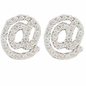 @ Studs Cool Kylie Nicki taylor Earrings Rhodium Plated sterling silver 925 @ AT