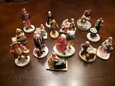 Lot Of 14 Sebastian Miniatures, Hand Crafted And Painted, very nice collection.